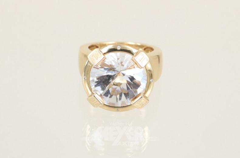 mod. Ring, 750er GG, bez. J.J.