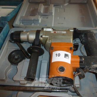 Bohrhammer TIP, im Koffer