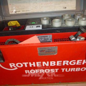 Rohr-Einfriergerät ROTHENBERGER Rofrost