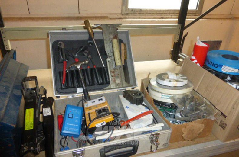 Posten Handwerkzeug, Metallscheren,
