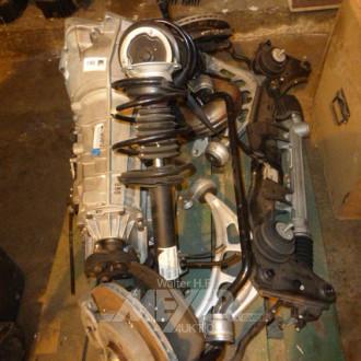 BMW-Getriebe sowie Vorderachse mit