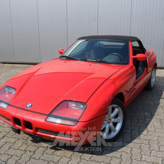 PKW, rot -Roadster-