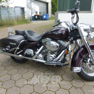 Motorrad, cherry metallic