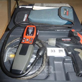 3 div. Messgeräte, Endoskope, Gasdetektor
