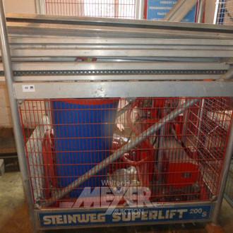 Gerüst-Bauaufzug STEINWEG Superlift 200S