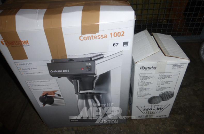 Kaffeemaschine BARTSCHER Contessa 1002