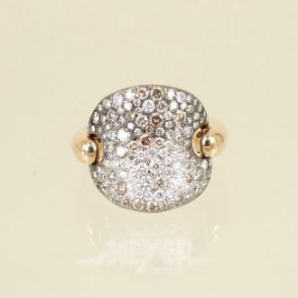 Ring, 750er Roségold ''POMELLATO''
