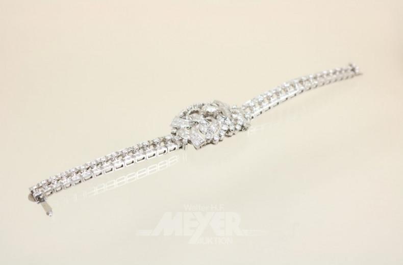 Armband, 60iger Jahre, 750er WG