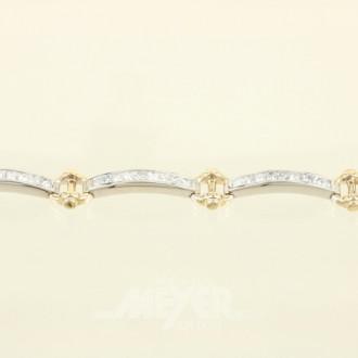 Armband, 585er WG (Säuretest) best. aus