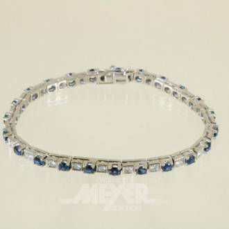 Armband, 750er WG, ca. 18,5 g.,