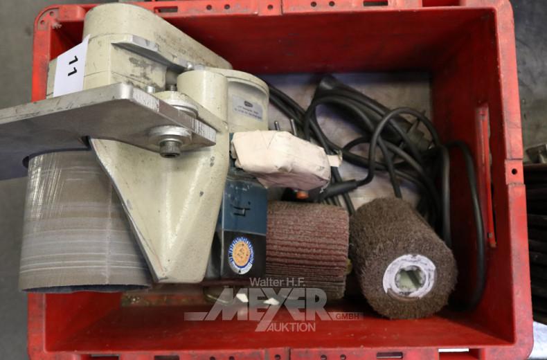 Elektro-Handfinier-/Schleifmaschine