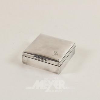 Zigarettendose, 800er Silber
