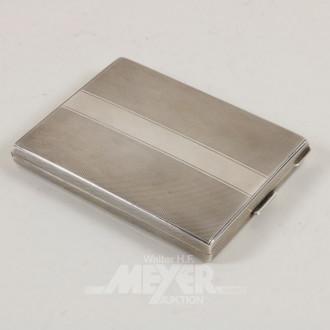 Zigarettenetui, 800er Silber,