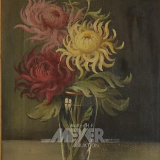 Gemälde ''Chrysanthemen-Stillleben''