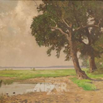 Gemälde, ''Seeufer'',