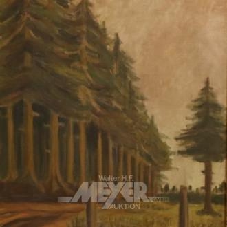 Gemälde ''Pfad zum Nadelwald''