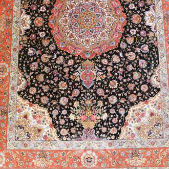 Orient-Teppich ''Täbris'', Seide
