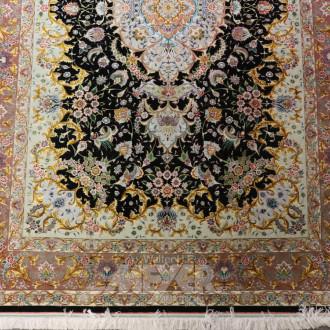 Orient-Teppich ''Täbris'', Seide,