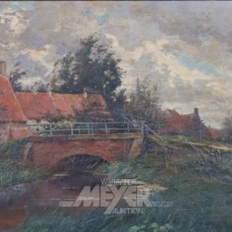 Gemälde ''Hofbrücke''