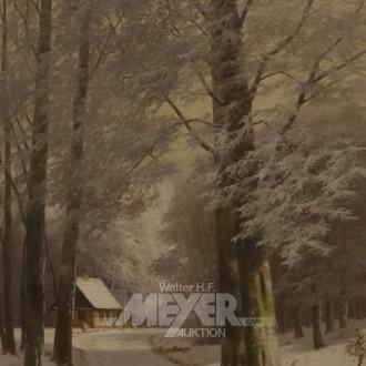 Gemälde ''Winterlandschaft''