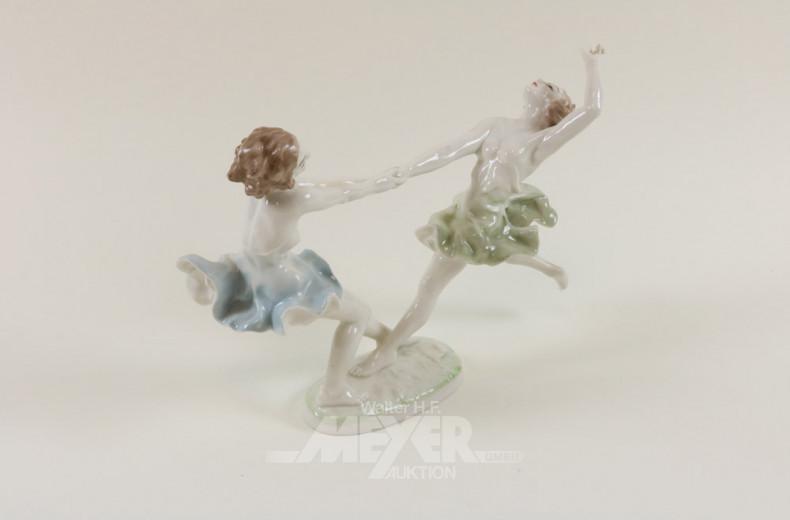 Figurengruppe, ''Tanzende Mädchen''