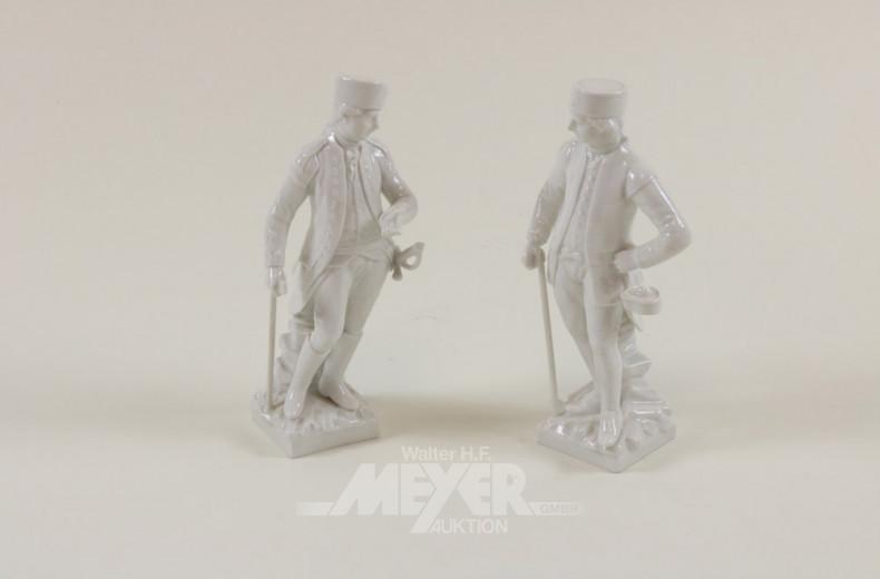 Paar Porzellanfiguren, ''Bergmänner''