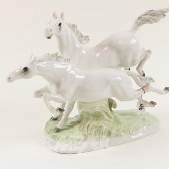 Porzellangruppe, ''Pferde''