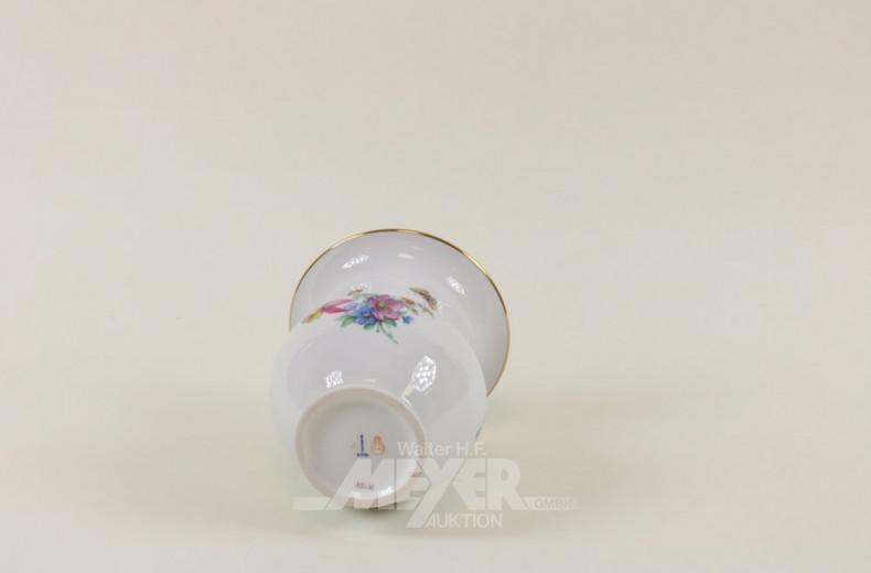 Porz.-Vase, KPM, bauchige Form