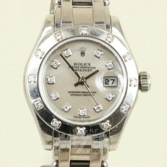 Damenarmbanduhr ''Rolex'' Pearlmaster