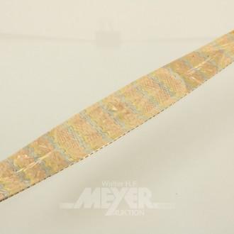 breites Armband, 750er GG/RG/WG,