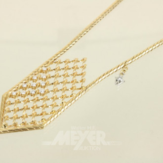 Collier, 750er GG ''WELLENDORF''