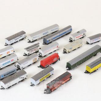 gr. Posten Güterwaggons, ca. 110 Stück,
