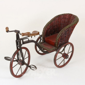 nostalgisches Dreirad