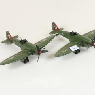 2 kl. Modell-Flugzeuge ''Jagdflieger''