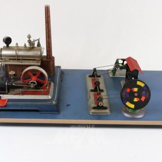 Dampfmaschine mit div. Zubehör