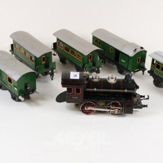 D-Lok und 5 Waggons