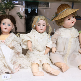 5 div. Puppen