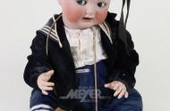 gr. Puppe ''Junge im Matrosenanzug''