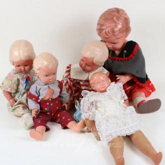 6 div. Puppen, SCHILDKRÖT
