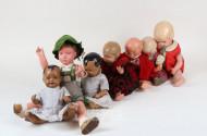 8 div. Puppen, SCHILDKRÖT