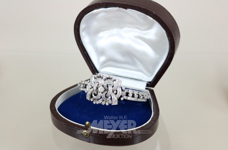 Armband, 60er Jahre, 750er WG
