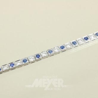 Armband 750er WG, Allianzform ausgefasst