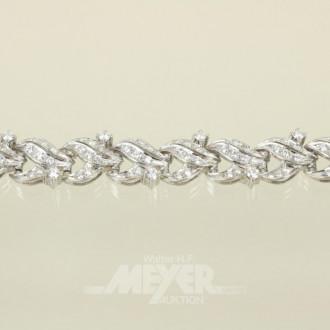 Armband, 585er WG, Modellanfertigung