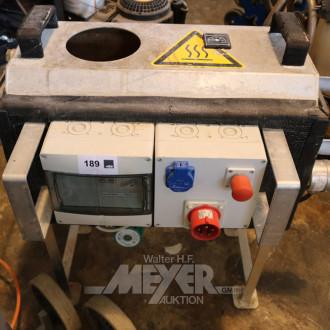 Wasservorwärm-Heizgerät mit VELO-Pumpe