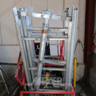 Aluminium-Gerüst-Bauaufzug