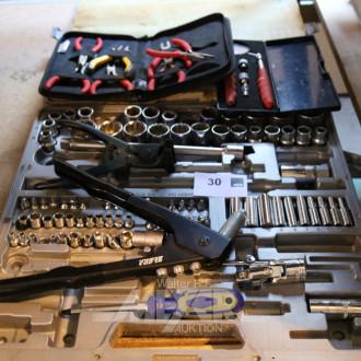 Werkzeug-Steckschlüsselkasten