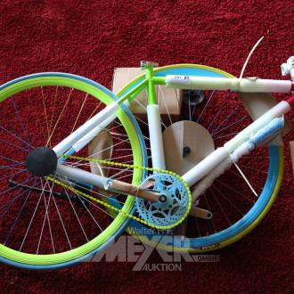 3 Fahrräder/Fixed Gear Bikes