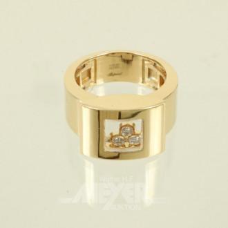 breiter mod. Ring, 750er GG, CHOPARD,