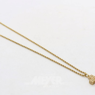 Halskette, 750er GG, CHOPARD, ca. 9 g.