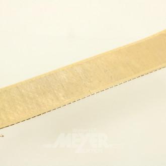 breites Armband, 750er GG, mattiert,